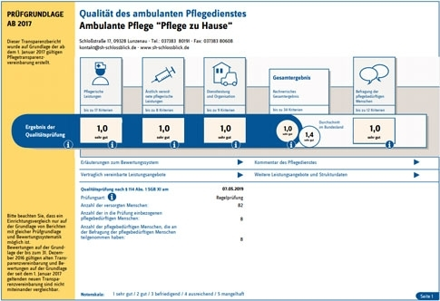 Qualitätsbericht Ambulante Pflege 2019