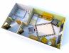 Seniorenheim Schlossblick - 1 Bett Zimmer 3D inkl. Rollstuhl: Vergrößerung in einer Lightbox öffnen