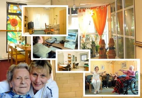 Seniorenheim Schlossblick - Übersicht: Vergrößerung in einer Lightbox öffnen