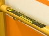 Seniorenheim Schlossblick - Geländer mit Blindenschrift: Vergrößerung in einer Lightbox öffnen